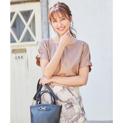 any SiS 【洗える】バーポイントシャツ ブラウス (モカピンク)