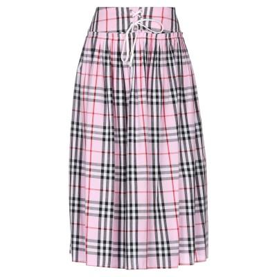 シルビアンヒーチ SILVIAN HEACH 7分丈スカート ピンク XXS コットン 100% 7分丈スカート
