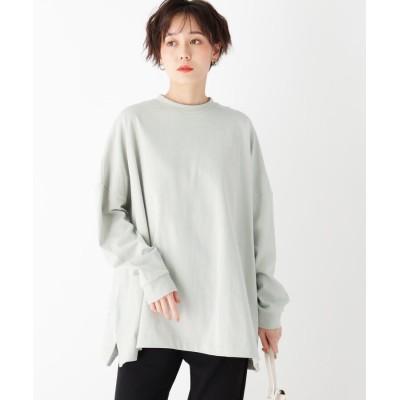 OPAQUE.CLIP(オペークドットクリップ) スペシャルコットン ロングスリーブ BIG Tシャツ【UNISEX】