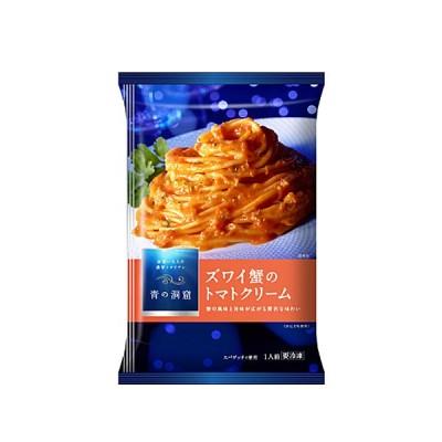 日清製粉 青の洞窟 ズワイ蟹の トマトクリーム 270g X14袋(1ケース)(送料無料)(冷凍食品)