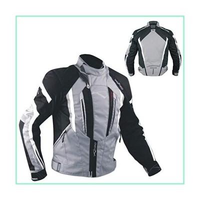 バイクオートバイ100?%防水CE Armours Textile Thermal TexジャケットSonic X-Large ブラック T53---GREYXL【並行輸入品】