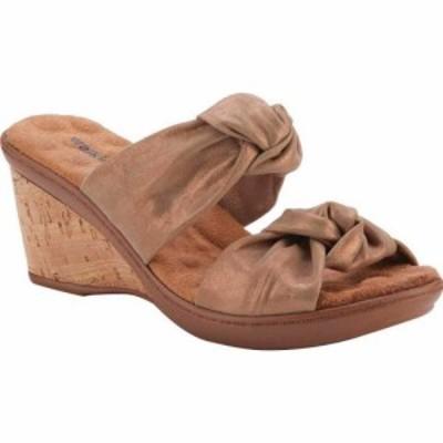ウォーキング クレードル Walking Cradles レディース サンダル・ミュール ウェッジソール シューズ・靴 Louisa Two Piece Wedge Slide C
