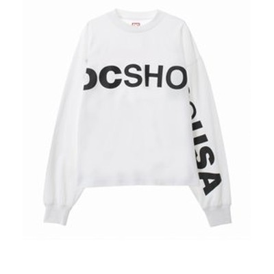 20 WS ONESIDE LOGO LS Tシャツ 長袖 RELAXED DESIGN women's