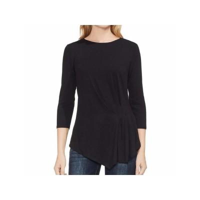 レディース 衣類 トップス VINCE CAMUTO Womens Black Long Sleeve Boat Neck Top Size: XS ブラウス&シャツ