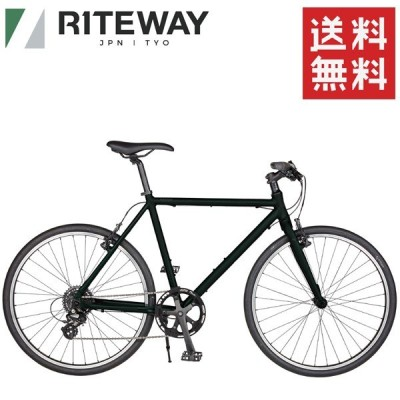 ライトウェイ シェファード RITEWAY SHEPHERD マットダークブラックオリーブ 自転車 クロスバイク