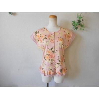 ピンクハウス PINKHOUSE お袖と裾 の 可愛い カットソー カーディガン