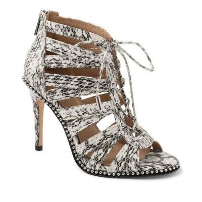 BCBジェネレーション サンダル シューズ レディース Jabia Lace-Up Dress Sandals White Snake
