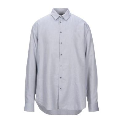 ジョルジオ アルマーニ GIORGIO ARMANI シャツ ブルー 38 コットン 100% シャツ