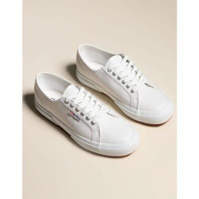スペルガ SUPERGA レディース スニーカー シューズ・靴 SUERGA 2750 Nappaleau Leather Shoes WHITE
