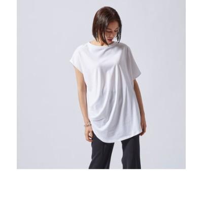 アシンメトリーデザインTシャツ《洗濯機で洗える》