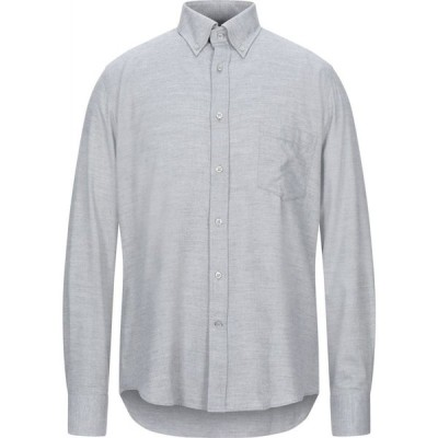 ポール シャーク PAUL & SHARK メンズ シャツ トップス Solid Color Shirt Grey