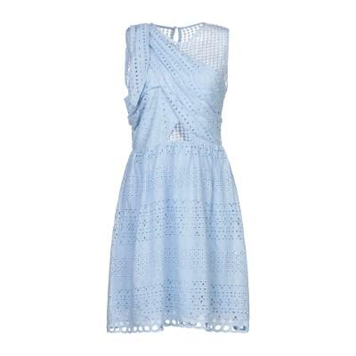 BRIGITTE BARDOT ミニワンピース&ドレス スカイブルー 0 コットン 90% / ポリエステル 10% ミニワンピース&ドレス