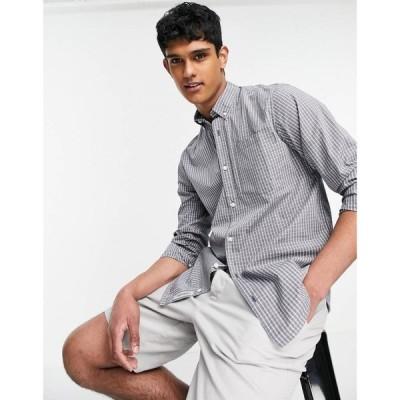 カーハート Carhartt WIP メンズ シャツ トップス Alistair long sleeve shirt グレー