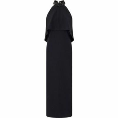 アリエラ ロンドン Ariella London レディース パーティードレス ワンピース・ドレス ariella riva halter backless column BLACK