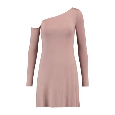 BAILEY 44 ミニワンピース&ドレス パステルピンク XS レーヨン 95% / ポリウレタン 5% ミニワンピース&ドレス