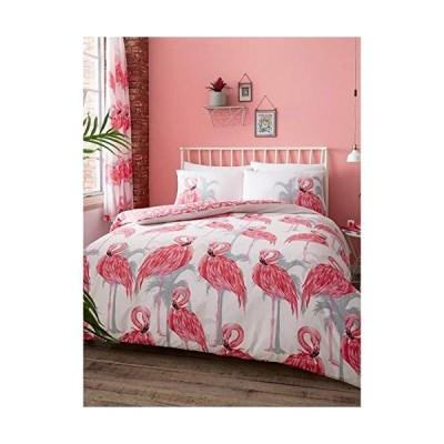 フラミンゴ Flamingos シングル 布団カバー枕カバー 0267 [並行輸入品]