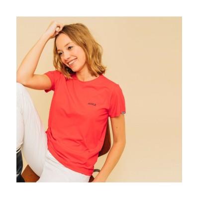 【エーグル】 吸水速乾 ステンダール 半袖Tシャツ メンズ レッド M AIGLE