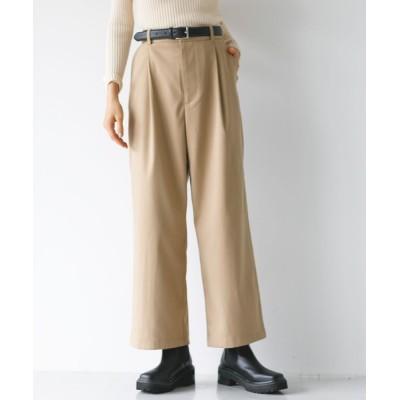 koe / センタータックストレートパンツ* WOMEN パンツ > チノパンツ