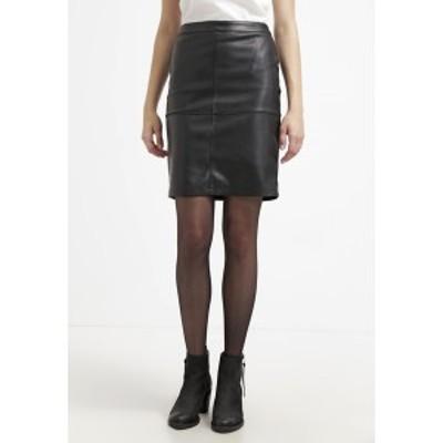 ヴィラ レディース スカート ボトムス VIPEN - Pencil skirt - black black
