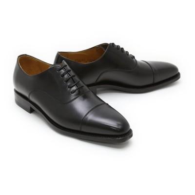 ビジネスシューズ 本革 ストレートチップ キャップトゥ メンズ 革靴 本革 ビジネスシューズ クインクラシコ ドレスシューズ 2739dbk ブラック(黒) キャップトゥ