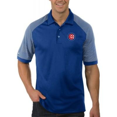 アンティグア Antigua メンズ ポロシャツ トップス Chicago Cubs Engage Royal Polo