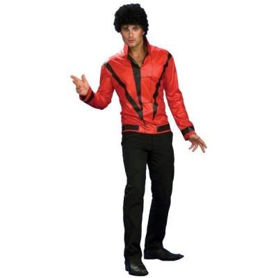 マイケル・ジャクソン スリラー ジャケット レッド 衣装 、コスチューム 男性用