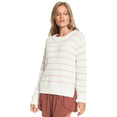 ロキシー ニット&セーター レディース アウター Roxy Women's Flowy Mood Bico Sweater Tapioca
