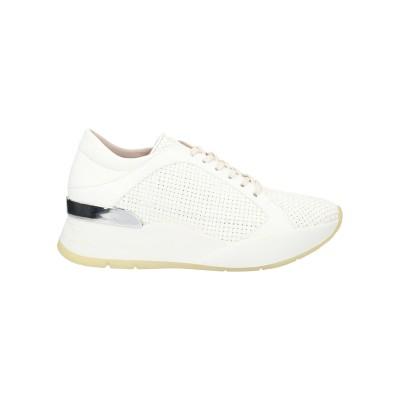 PONS QUINTANA スニーカー&テニスシューズ(ローカット) ホワイト 41 革 スニーカー&テニスシューズ(ローカット)