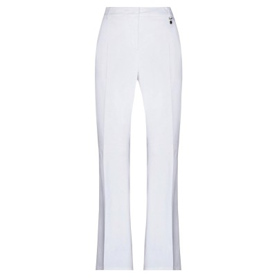 PENNYBLACK パンツ ホワイト 46 コットン 96% / ポリウレタン 4% パンツ