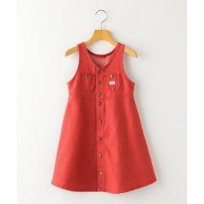シップスLee:ジャージー オーバーオールスカート(100~140cm)【お取り寄せ商品】