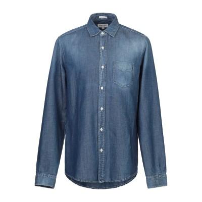 ロイ ロジャース ROŸ ROGER'S デニムシャツ ブルー 3XL コットン 70% / 麻 30% デニムシャツ