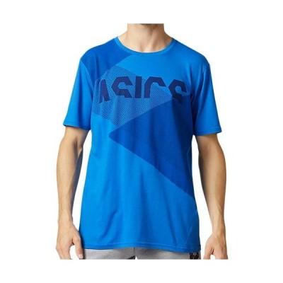 アシックス(asics) メンズ レディース TOKYO グラフィックショートスリーブトップ ツナブルー/ピーコート 2031B323 421 半袖 Tシャツ トップス トレーニング