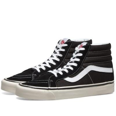 ヴァンズ Vans メンズ スニーカー シューズ・靴 ua sk8-hi 38 dx Black/True White