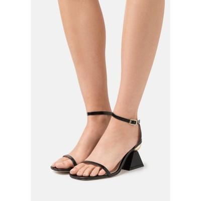 レイドワイドフィット サンダル レディース シューズ WIDE FIT AVELYN - Sandals - black