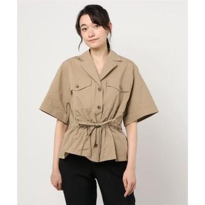 シャツ ブラウス VENIT:ミリタリーシャツ