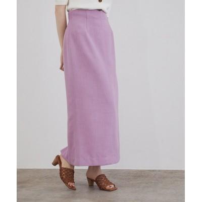 ROPE' / リネンライクストレートスカート WOMEN スカート > スカート