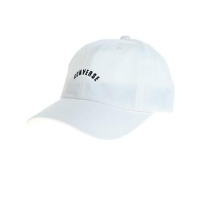 コンバース(CONVERSE)帽子 レディース UV キャップ CNL ツイルキャップ 105312001 WHT 日よけ