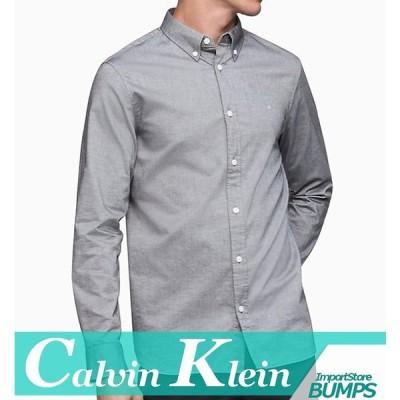 カルバンクライン  カジュアルシャツ/ドレスシャツ  長袖  メンズ  コットン  ストレッチ  XS〜XXL  カジュアル  新作  CK  CALVIN  KLEIN