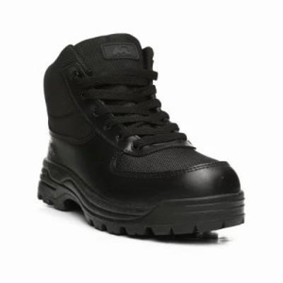 バイヤーズピック ブーツ mesh lace-up boots Black