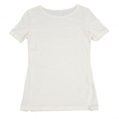 ワイズY's 混紡ストレッチTシャツ アイボリーM位 【レディース】