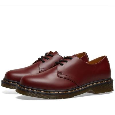 ドクターマーチン Dr Martens メンズ シューズ・靴 Dr. Martens 1461 3-Eye Shoe Cherry Red Smooth