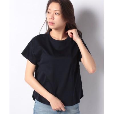 【キャラ・オ・クルス】 半袖Tシャツ レディース ネイビー 7 CARA O CRUZ