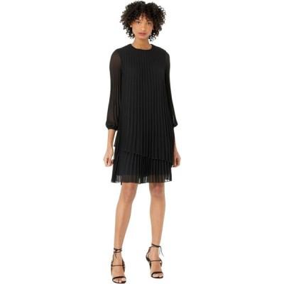 ポールスミス Paul Smith レディース ワンピース ワンピース・ドレス Long Sleeve Ruffle Trim Dress Black