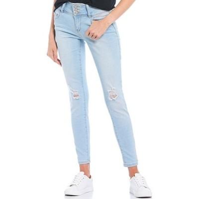 YMIジーンズ レディース デニムパンツ ボトムス Triple Button Wannabettabutt Repreve Sustainable Skinny Jeans
