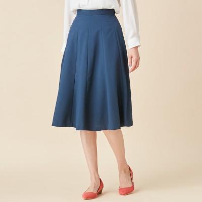 日本製★自宅で洗えてシワになりにくいフレアースカート