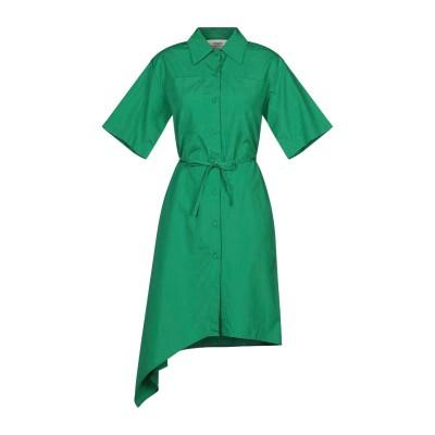 ポーツ 1961 PORTS 1961 ミニワンピース&ドレス グリーン 46 コットン 100% ミニワンピース&ドレス