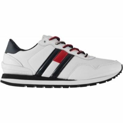 トミー ジーンズ Tommy Jeans メンズ スニーカー シューズ・靴 Baron Leather Trainers White