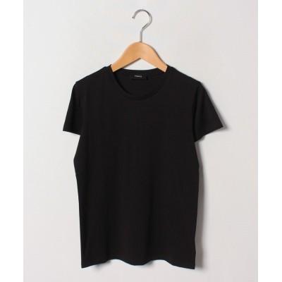 (Theory/セオリー)【LEE5月号掲載】Tシャツ APEX TEE TINY TEE 2/レディース ブラック