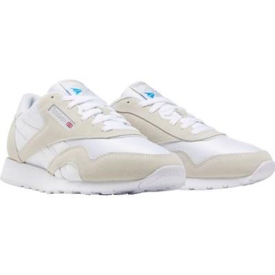 リーボック REEBOK メンズ スニーカー シューズ・靴 Classic Nylon Sneaker White/White