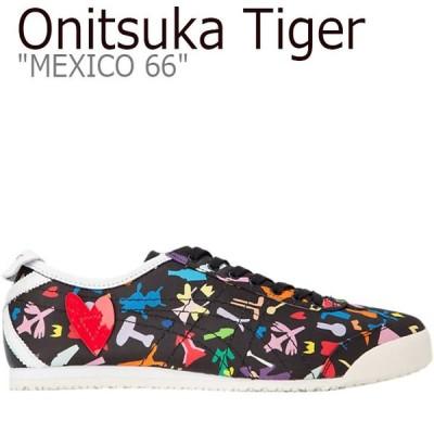 オニツカタイガー メキシコ66 スニーカー Onitsuka Tiger MEXICO 66 KANTA&KAEDE メキシコ 66 かんた&かえで BLACK 1183A472-001 シューズ